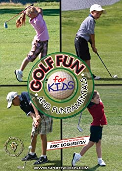 DVD Golf Fun and Fundamentals for Kids DVD featuring Eric Eggleston Book