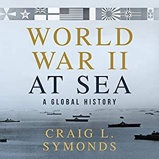 World War II at Sea audiobook cover art