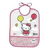 Tigex Eva - Babero con diseño Hello Kitty, color rosa