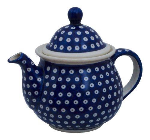 Original Bunzlauer Keramik Teekanne 1,7L im Dekor 42