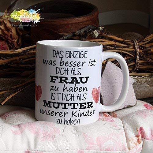 Kaffeebecher ~ Tasse - Das Einzige Frau - Mutter ~ Familie ~ Weihnachten Geschenk