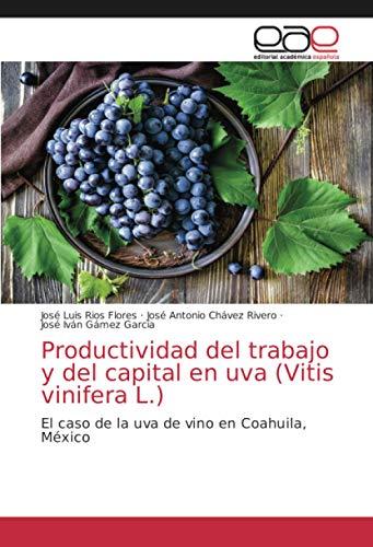Productividad del trabajo y del capital en uva (Vitis vinifera L.): El caso de la uva de vino en Coahuila, México