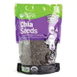 Absolute Organic Black Chia Seeds, 1 kg