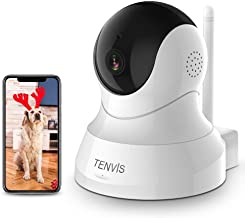Dog Camera – TENVIS 1080P Pet Camera with Phone App Speaker, Wireless Security..