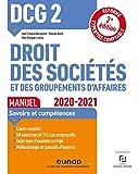 DCG 2 Droit des sociétés et des groupements d'affaires - Manuel - 2020/2021 - 2020/2021 (2020-2021)