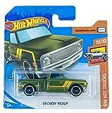 Hot Wheels '69 Chevy Pickup (verde) 10/10 HW Hot Trucks 2020 - 202/250 (tarjeta corta) GHC40