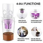 Portable-Coffee-K-Cup-Travel-Travel-Travel-Drip-Coffee-Maker-Drip-Pot-Macchina-da-caffe-a-goccia-Macchina-da-caffe-Brewer-Coffee-Mug-Situata-per-Outdoor-Indoor