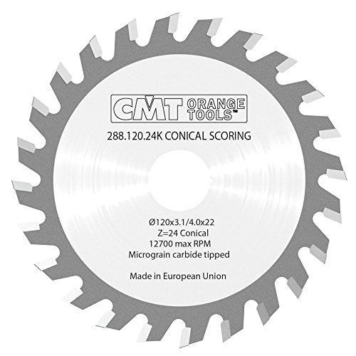 CMT Orange Tools CMT 288.120.24K - Sierra incisora 120x3.1/4.0x22 z=24 conico