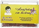 EL NIÑO CRESPO - Caja de Azafrán en Hebras de 2 gramos - Azafrán Español - Condimento Culinario - Aporta Sabor a tus Comidas - Original de España - Azafrán Silvestre