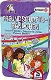 Schmidt Spiele 51440 Schleich, Horse Club, Freundschaftsbändchen, Bring Mich mit Spiel in der Metalldose