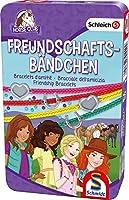 Schleich, Horse Club, Freundschaftsbändchen: Bring-Mich-Mit-Spiel in Metalldose