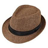 Chillouts sacramento sombrero gris S//MFedora trilby sombreroajustableborde