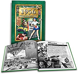 1956 What a Year it Was: Great Birthday or Anniversary idea