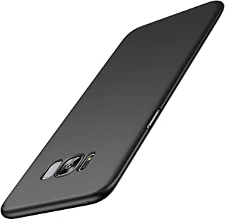 Anccer Compatible for Galaxy S8 Plus Case [Colorful Series] [Ultra-Thin] [Anti-Drop] Premium Material Slim Cover for Samsung Galaxy S8+ 6.2Inch (Not fit for Galaxy S8) - Black