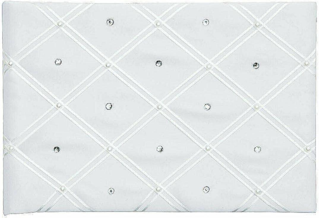 Easy-to-use toroc Diamond Design Wedding Guest safety Book Decor Home Piece - 1