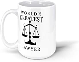calanaram better call saul World's Greatest Lawyer 15Oz Ceramic Coffee Mugs 5333326348982