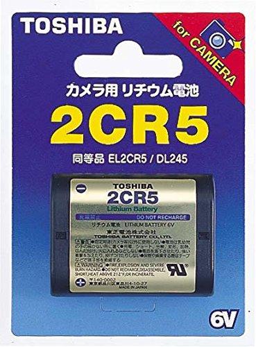 TOSHIBA 2CR5G カメラ用リチウムパック電池
