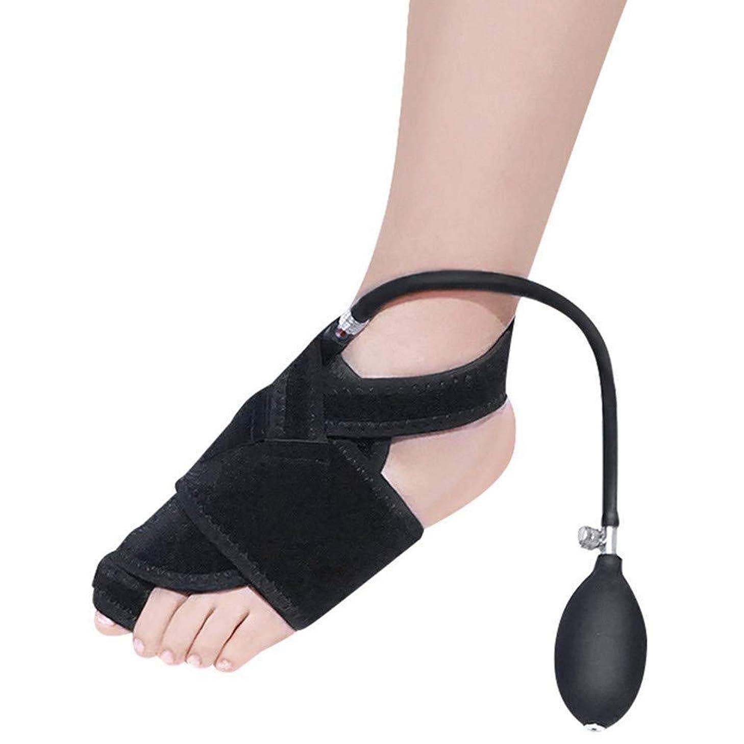 杖ストラトフォードオンエイボン十代の若者たちつま先セパレーター、左の膨脹可能なつま先変形足の親指矯正器および空気圧式整形外科用補助腱膜瘤手術の回復,Leftfoot