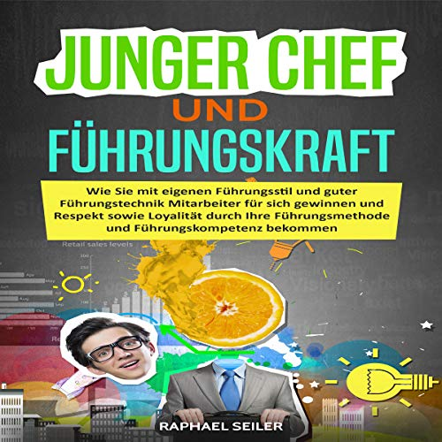Junger Chef und Führungskraft [Young Boss and Executive] audiobook cover art