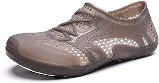 Wdonddonlx Zuecos Sandalias en Zapatos de Agua Tire de Estilo de Malla sin Jugo rápida Experimentado Cosido Lug Sole Topno...