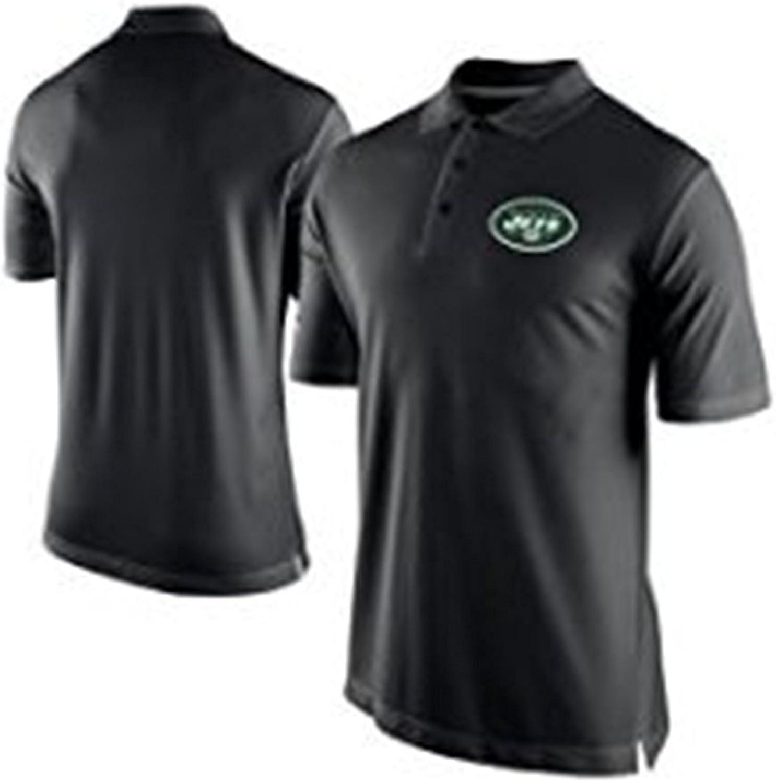 Nike Men's New York Jets Black Staff Performance Polo