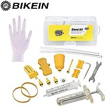Magura SRAM Series MTB Strumenti di riparazione dei freni per bici Dimensione libera Giallo7315 Kit di spurgo del freno della bicicletta Freno a disco minerale per olio idraulico per Shimano Tektro