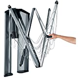 Brabantia 475924 - Tendedero de ropa plegable de pared Wallfix, con...