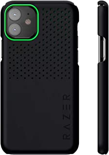 Razer Arctech Slim for iPhone 11 Case: Thermaphene & Venting Performance Cooling - Wireless Charging Compatible - Matte Black