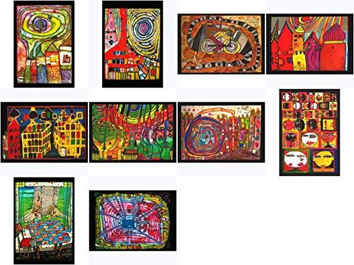 Kunstkarten-Set Friedensreich Hundertwasser III