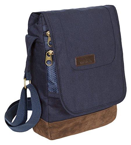 Trespass Bonham, azul marino, bolso de hombro de 1 litro con organizador interno, azul