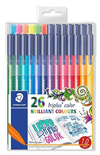 Staedtler triplus color 26 brillante Farben