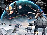 ZPCBPA DIY 5D Diamond Painting kit Star Wars #431 Full Drill Round Rhinestone Embroidery Paint Perfect for Gift Home Decoration (16X20in)
