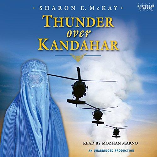 Thunder Over Kandahar audiobook cover art