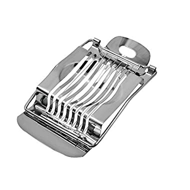 PROKITCHEN Boiled Egg Slicer Tool,Stainless Steel Wire Egg Slicer Strawberry Cutter