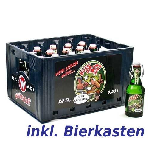Bölkstoff Pilsner Wernerbier inkl. Kasten (20 x 0,33l) - inkl. Pfand - Werner das Kultibier