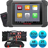 Autel MaxiSys MS906BT Diagnostic Tool with ECU Coding, Full System Automotive Scan Tool, Bi-Directional Control, Active Test, Injector Coding, Oil Reset, EPB, SAS, DPF, TPMS, ABS Auto Bleed.