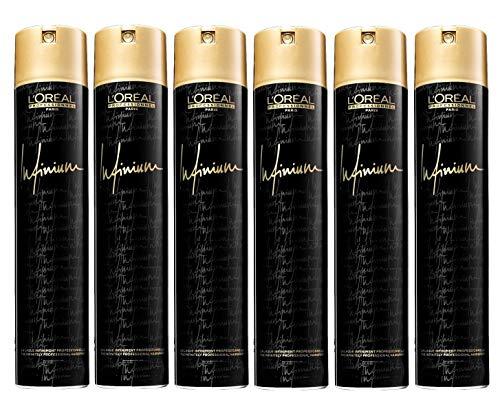 Loreal Infinium Soft / Souple 6 x 500 ml Haarspray für leichten Halt Styling-Hairspray