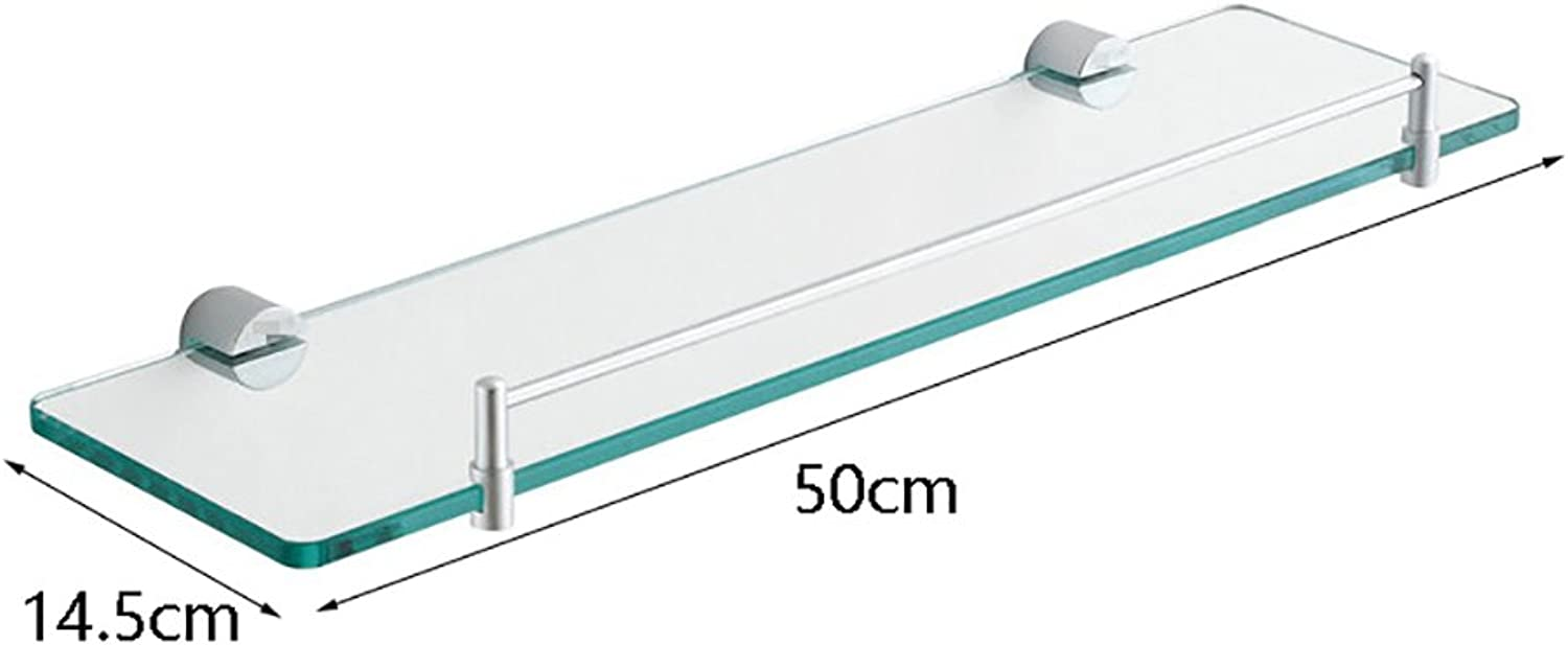 Bathroom Shelves Bathroom Shelf 304 Stainless Steel Bathroom Shelf Wall Mount Size 5014.5cm