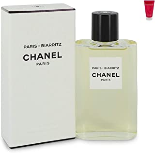 Chánêl Páris Biárritz Perfume For Women Eau De Toilette Spray 4.2 oz. Free! Body Lotion