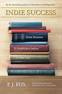 Indie Success: From Dreamer To Established Author In One Year