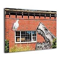 Skydoor J パネル ポスターフレーム シャーク壁画 インテリア アートフレーム 額 モダン 壁掛けポスタ アート 壁アート 壁掛け絵画 装飾画 かべ飾り 30×40