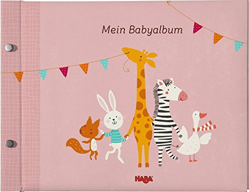 Haba 302684 - Mein Babyalbum Spielzeug, rosé