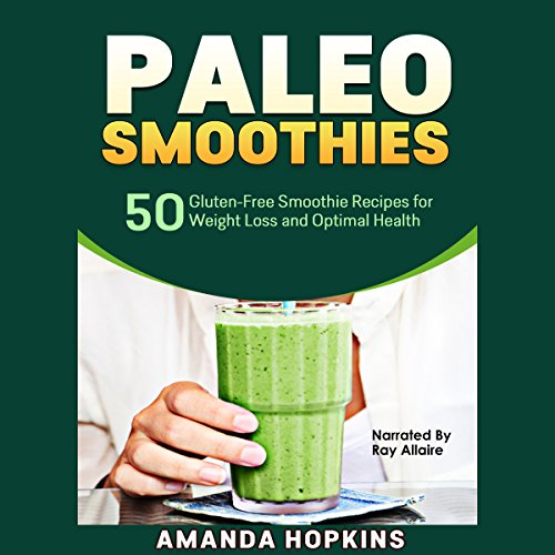 Paleo Smoothies audiobook cover art