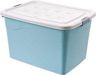 GWZZ Boîte de Rangement Boîte de Rangement Vêtements Boîte de Rangement Boîte de Rangement avec poulie,Blue