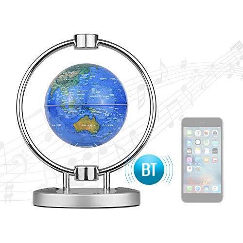 Constelación Globe, 6 Pulgadas Altavoz BT inalámbrico magnético de suspensión Globo, Bluetooth Altavoz de Doble Uso, Regalo de cumpleaños decoración de la Oficina Ilustraciones