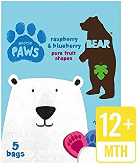 Bear Fruit Paws Arctic Raspberry & Blueberry Multipack - 5 x 20g