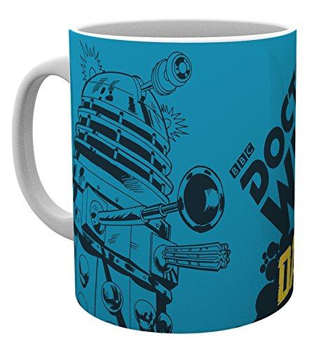 GB eye LTD, Doctor Who, Universe Dalek, tazza in legno, varia, 15 x 10 x 9 cm