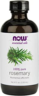 Now Essential Oils, Rosemary Oil, Purifying Aromatherapy Scent, Steam Distilled, 100% Pure, Vegan, 4-Ounce