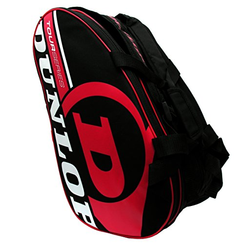 Dunlop Paletero de pádel Tour Intro Negro/Rojo