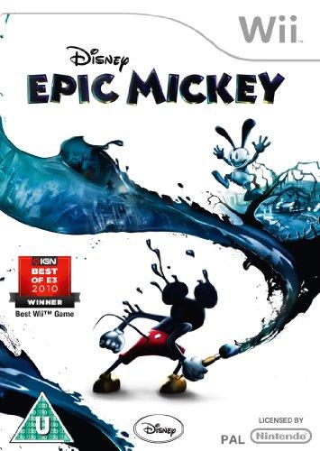 Disney Epic Mickey (Wii) [Edizione: Regno Unito]